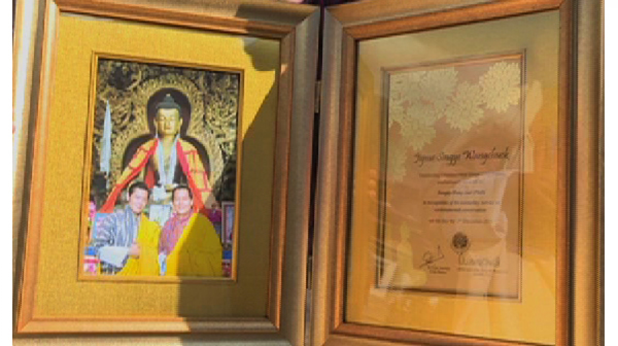 Fifth Jigme Singye Wangchuck Outstanding Environmental Stewardship Award