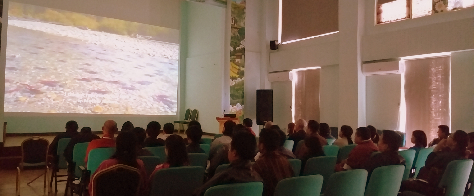 "The documentary ""Artifishal"" screened in Thimphu"